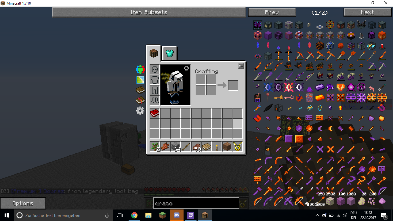 My inventory got reseted (IDK when right topic