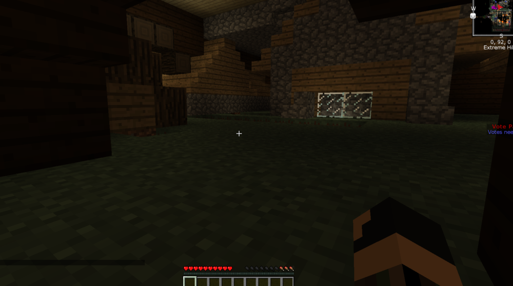 Griefed spawn right at /spawn